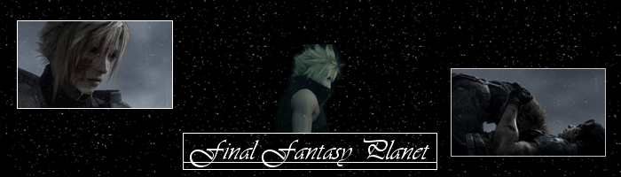 final fantasy Planet  Forum Index