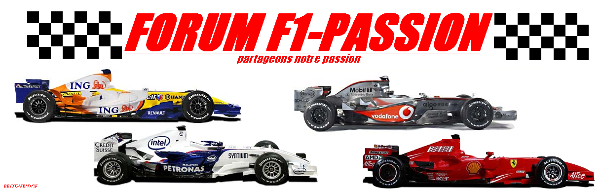 F1- passion Index du Forum