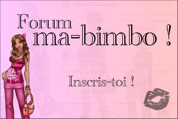 Conseil pour ma-bimbo Index du Forum