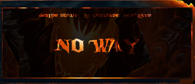 No Way Index du Forum