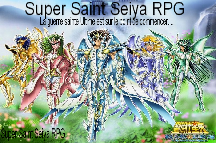 super saint seiya rpg Index du Forum