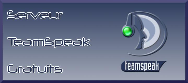 Création serveur teamspeak. Index du Forum