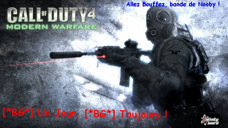 Le Site & Forum OFFICIEL des Best-Gamers de CoD4 ( et de CoD5 pour le fun zombie :P ) Index du Forum