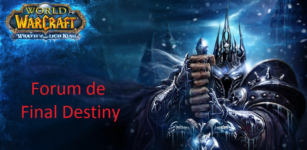 "Le forum de ""Final Destiny"" Index du Forum"