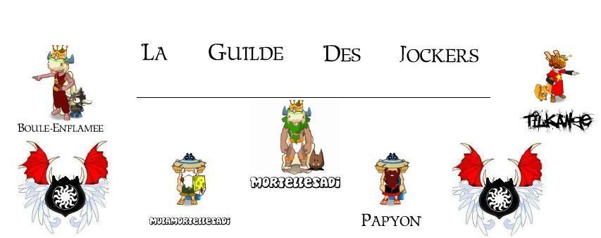 La Guilde Des Jockers Index du Forum
