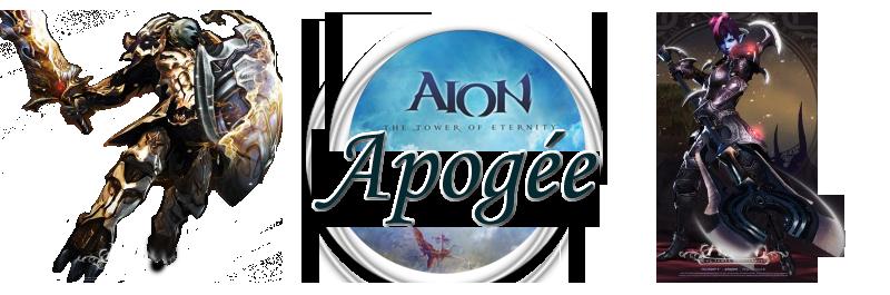 Aion, Asmodien - Légion Apogée - Serveur Arbolu(Fr) Index du Forum