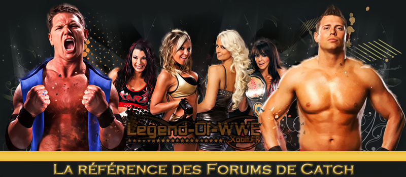 Legend Of WWE Index du Forum