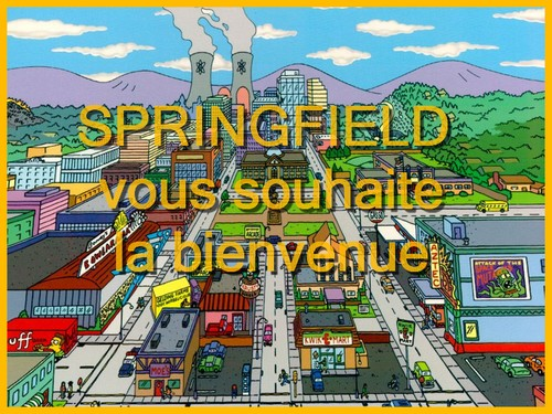 Bienvenue à Springfield ! Index du Forum