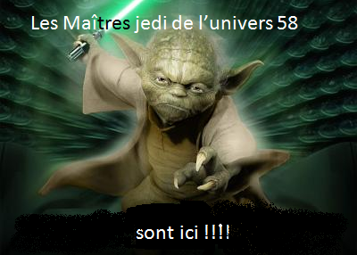 alliance des maitres jedi