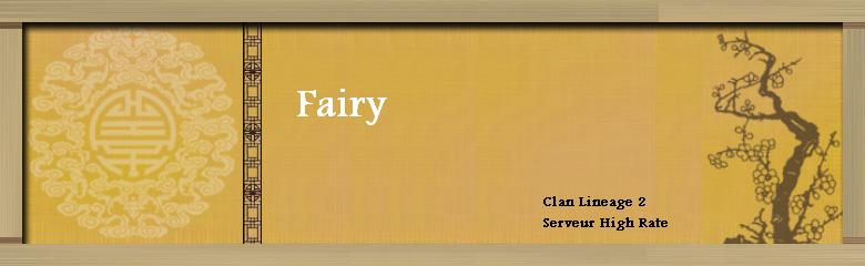 Fairy Index du Forum