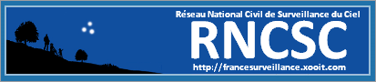 Réseau National Civil de Surveillance du Ciel Forum Index