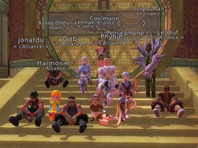 LAlliance, une équipe de gens bien pour une team qui va bien, pour que la Lumière jaillisse Index du Forum