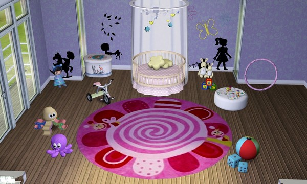 affordable tapis rond mesh pour fille with tapis rond fille. Black Bedroom Furniture Sets. Home Design Ideas