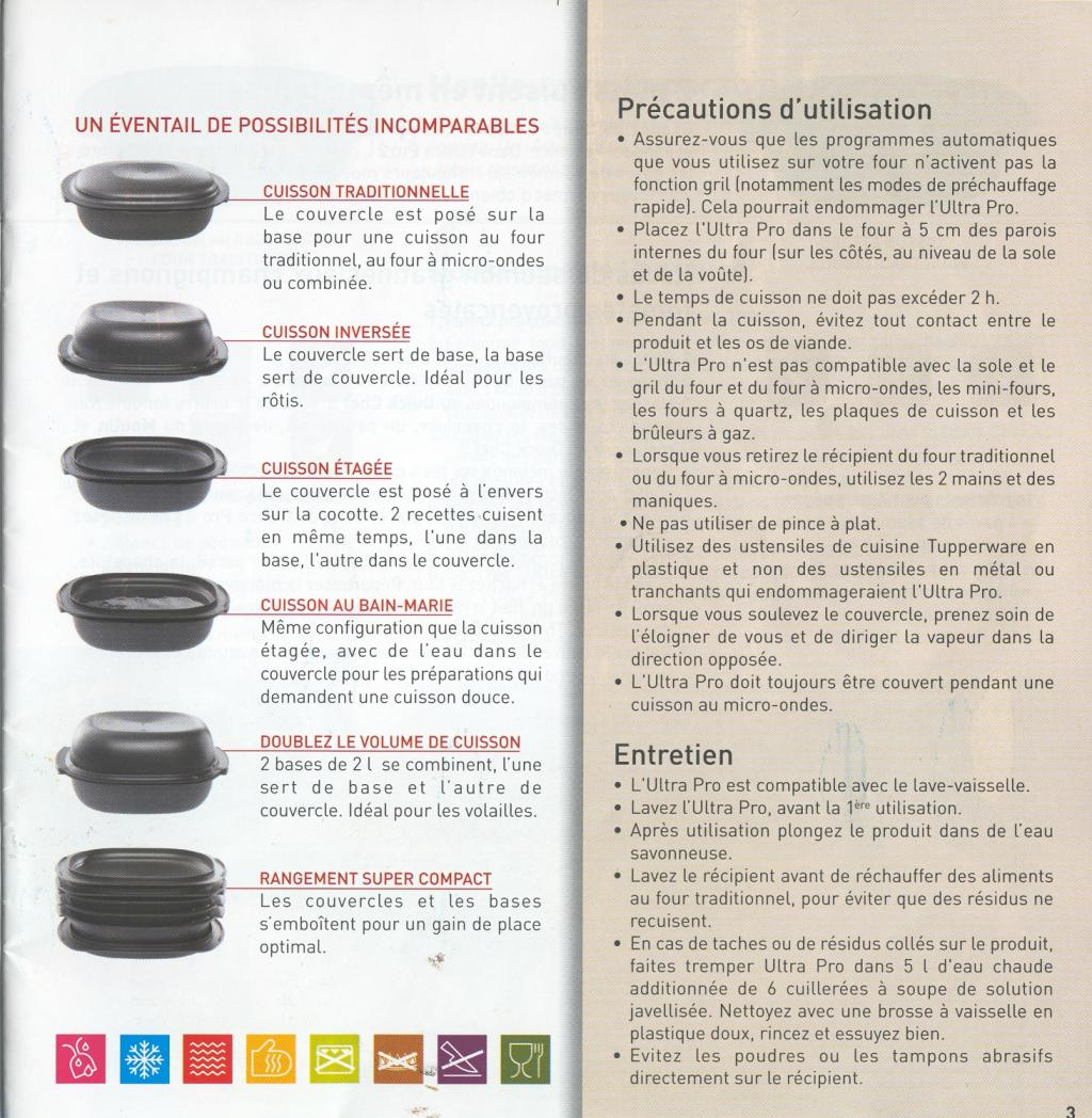 Recette Ultra Pro 5.7 L Tupperware un guide d'aide et d'astuces pour les tupperware :: four à chaleur