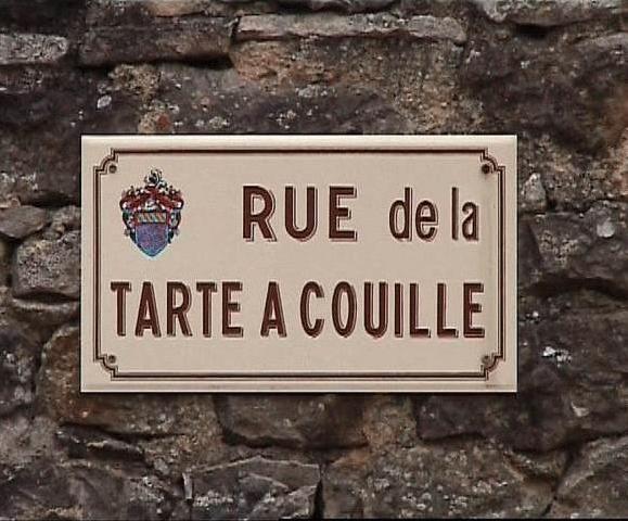 Noms insolites de rues ou de villes Ruetarte-63c49e