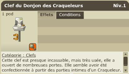 Justice League of Dofus :: DONJON des CRAQUELEURS