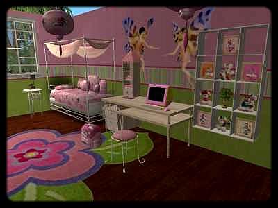 Les chambres - Chambre de fille de 9 ans ...