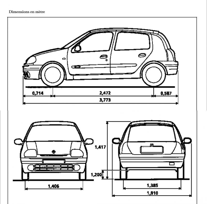 dimension clio 1bd22ac clio dimensions images frompo