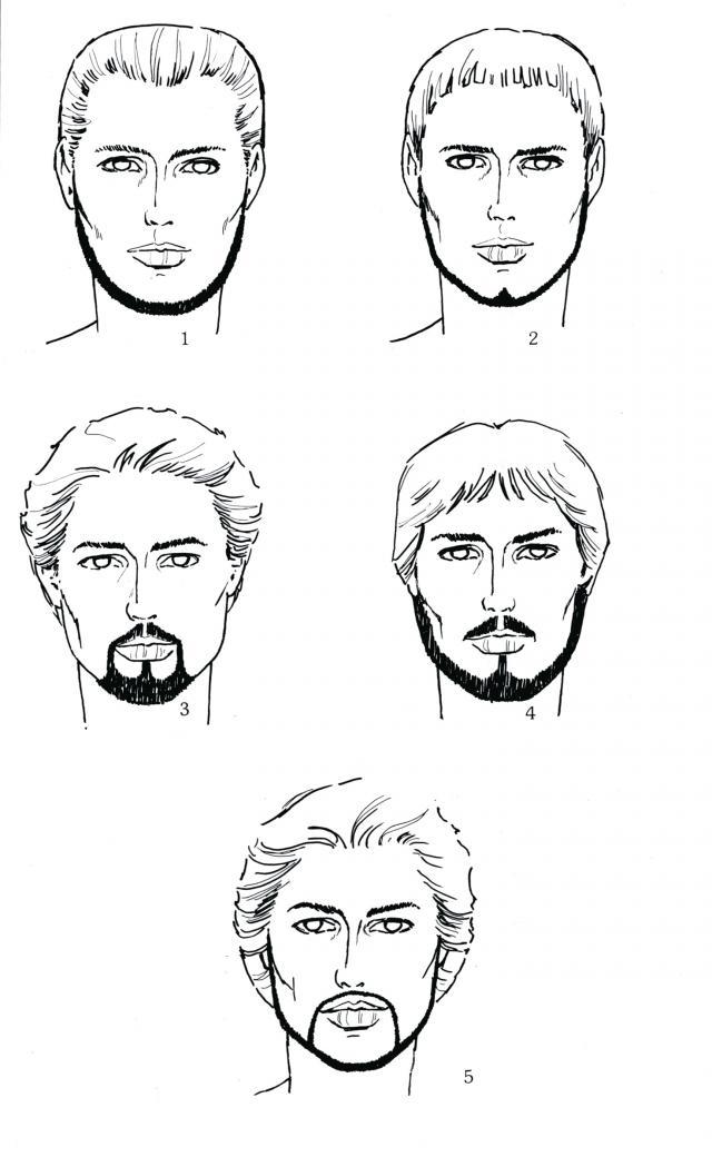 Style barbe visage fin - Barbe visage ovale ...