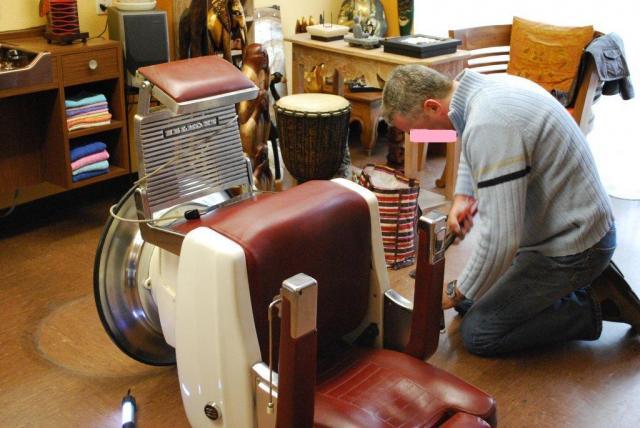 Exceptionnel Coiff' Passion :: Les fauteuils MR87