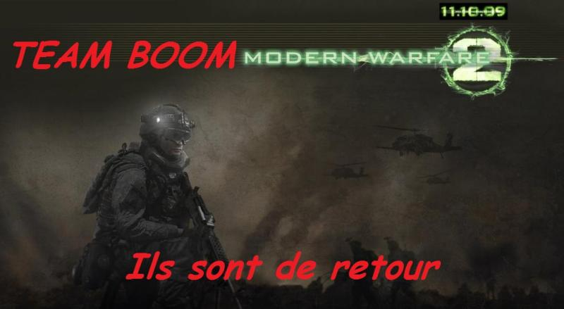 team boom mw2 Index du Forum