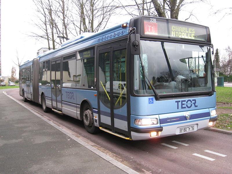 the omsi bus tcar rouen achat nouveau bus. Black Bedroom Furniture Sets. Home Design Ideas