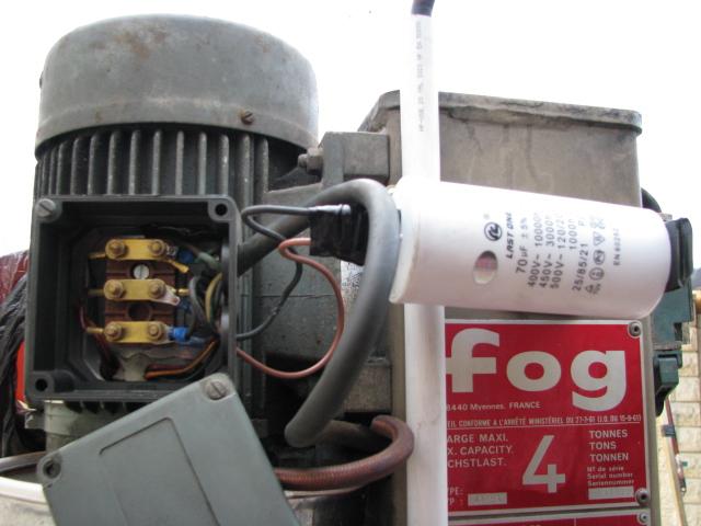 L amerique a sancoins pont l vateur fog for Comment verifier un condensateur