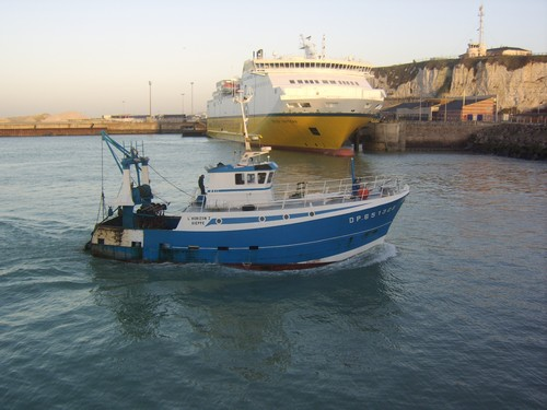 bateau de peche dieppe