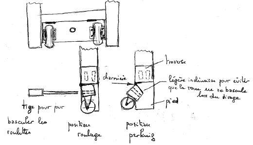 roulette escamotable etabli bande transporteuse caoutchouc. Black Bedroom Furniture Sets. Home Design Ideas