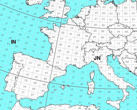 Carte Europe Latitude.Groupe Dx Bravo Echo 27mhz Pmr446 Swl Assistance