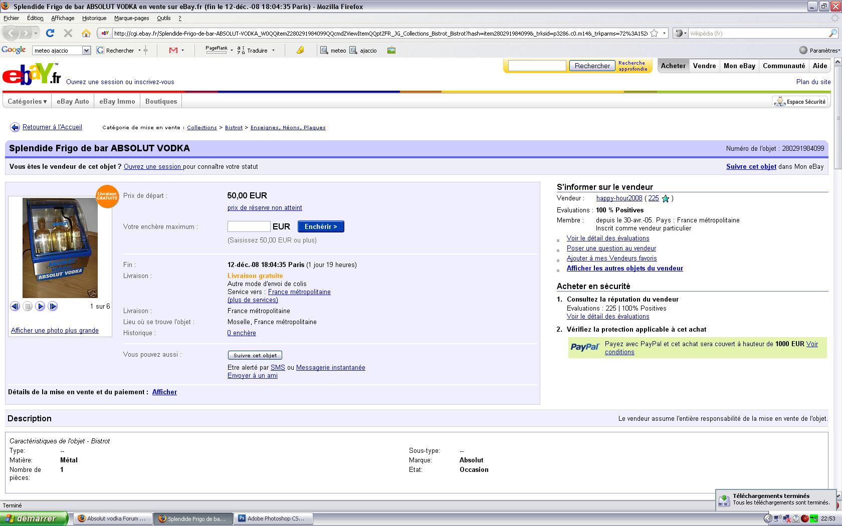 Absolut Vodka Forum Searching Ebay