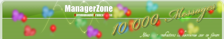 Communauté Francophone de ManagerZone Index du Forum