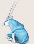Les HUMAINS : Culture et Civilisation Antilope-bleu-1df6254