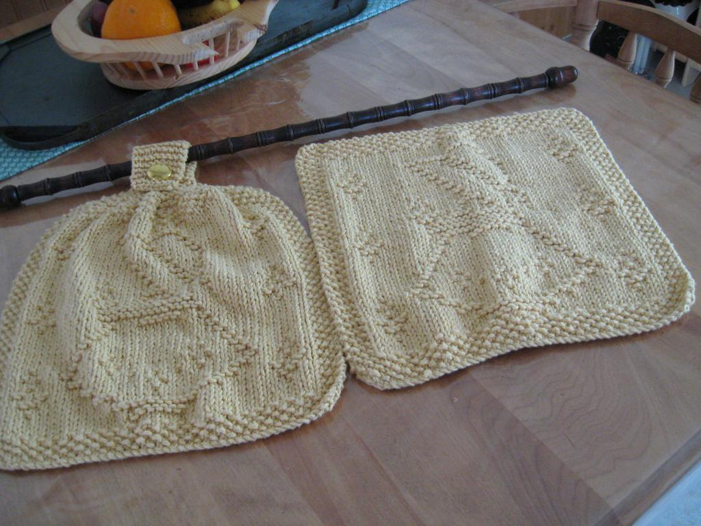 patron tricot lavette