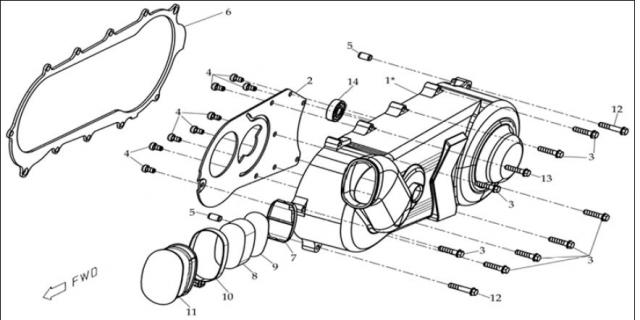 schema moteur quad hytrack