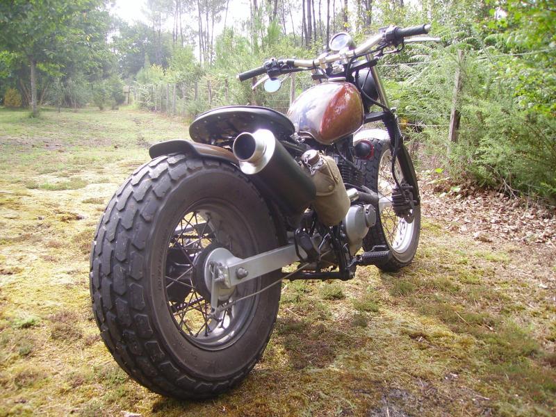 guidon moto scrambler