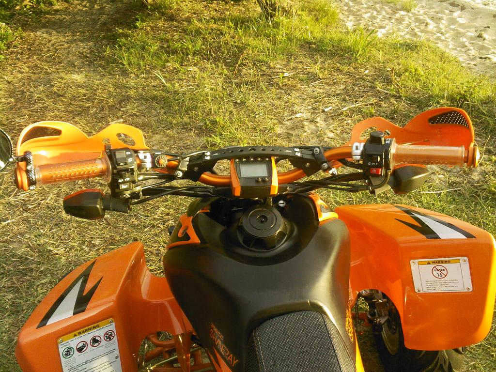 CHINESE QUAD :: [SHINERAY 250 STXE] Choix guidon racing