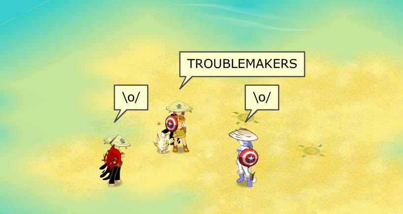 Troublemakers Index du Forum