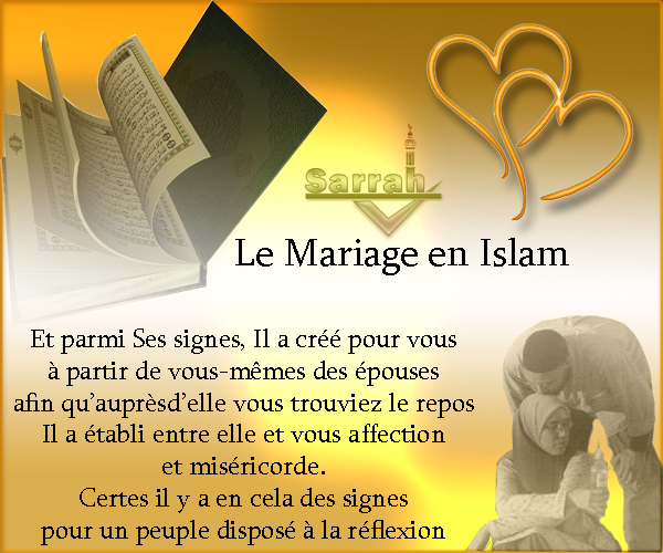 forum islam sunnite le mariage en islam. Black Bedroom Furniture Sets. Home Design Ideas