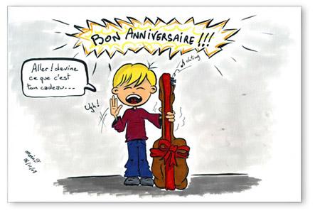 bon anniversaire ukulele