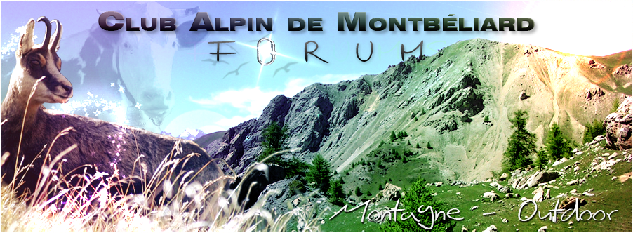 club alpin français de montbéliard Index du Forum