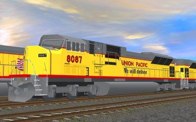 Trainz Orient Express :: Union Pacific - EMD