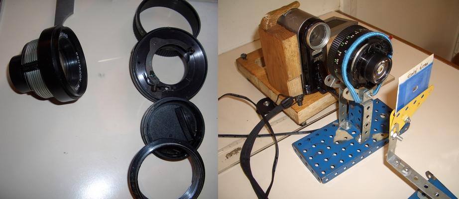 le transfert pellicule zoom angenieux comme objectif projecteur. Black Bedroom Furniture Sets. Home Design Ideas