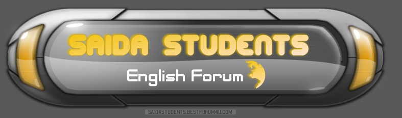 Saida English Learners and Teachers Forum Forum Index