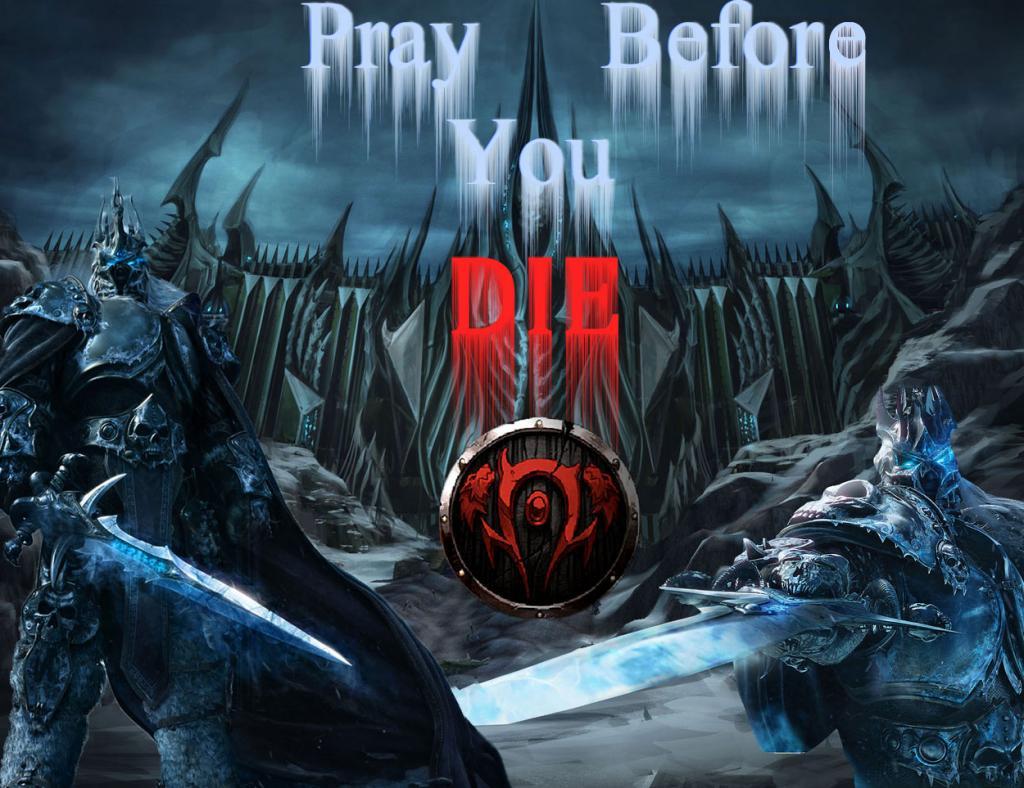 Pray Before You Die Index du Forum