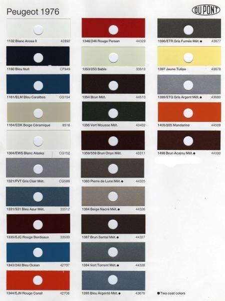 forum de l 39 amicale 504 gris fum quelle couleur. Black Bedroom Furniture Sets. Home Design Ideas