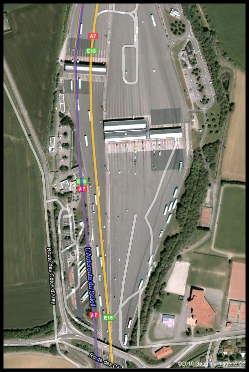 rencontre aire autoroute a13 Vénissieux