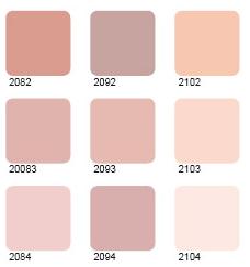 La chambre de julia for Peinture rose pale pour chambre