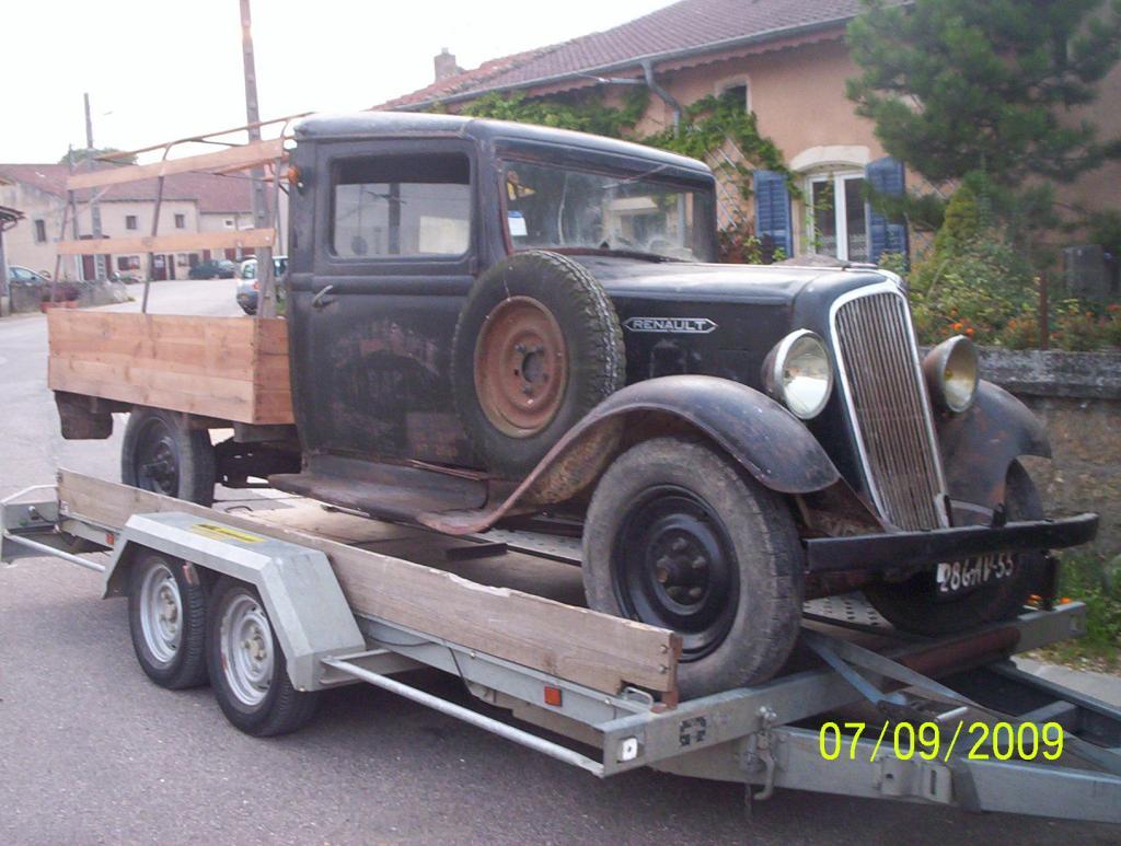 Les renault d 39 avant guerre ypc 608359 plateau 1934 for Garage citroen pessac