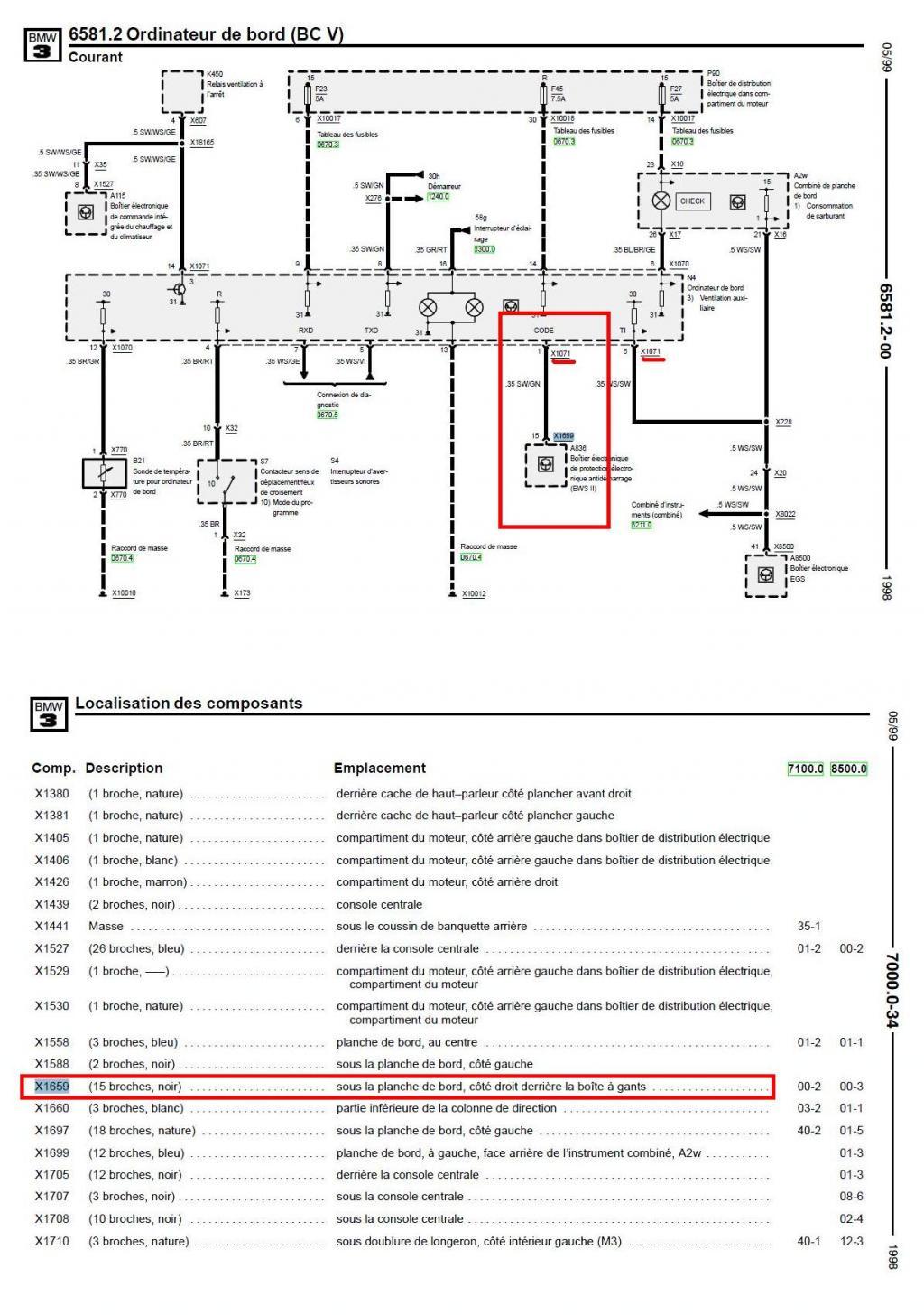 Anti Demarrage Bmw E36